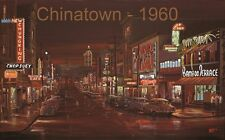 Brian Croft Chinatown Pender Street 1960 Limited Edition Giclee Canvas