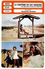 FICHE CINEMA : LE FANTOME DE CAT DANCING Reynolds 1973 Man Who Loved Cat Dancing