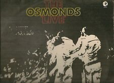 OSMONDS LP ALBUM THE OSMONDS LIVE