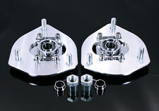 Honda Civic 01-05 Billet Adjustable Front Camber Plates Kit For Coilover