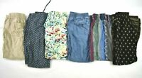 Lot of 6 Womens Size XS Mixed Brands Casual Everyday Evening Summer Pants
