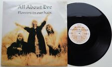"""73a all about eve Flowers in our Hair (even x4) UK 3 track 12"""", Eden 1987"""