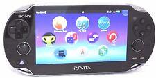 Sony PlayStation PS Vita Black Handheld Gaming Console Black 44-8A