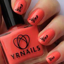 NAIL Wraps Nail Art acqua trasferimenti Decalcomanie-PIN UP GIRL VALIGIA-s138