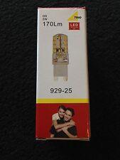 LED Leuchtmittel G9 Trio Leuchten Art.929-25, Warmweiss, 2 Watt, 170 Lumen