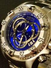 Invicta Reserve Excursion Touring Watch Swiss Mvmt Shock Deep Sea Blue Dial