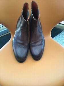 Boots- Chelsea-Boots - Italienisches Design - Handarbeit - NEUWERTIG - Gr. 44