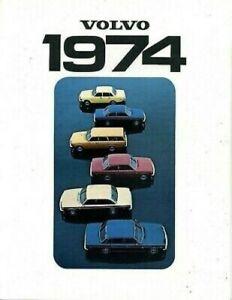 Volvo 1974 Dealer Brochure
