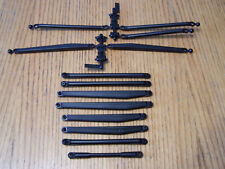 Axial SCX10 II Trail Honcho Upper & Lower Suspension Link Set w/ Flanged Balls