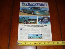 CONSULIER GTP HAMMERHEAD LT1 V8 - ORIGINAL 1993 ARTICLE