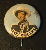 Roy Rogers Cowboy Stick Pin / Button