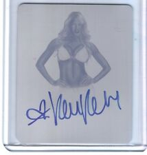 Kelly Kelly 2014 Leaf Wrestling Mag Printing Plate Autograph Card WWE SN 1 of 1