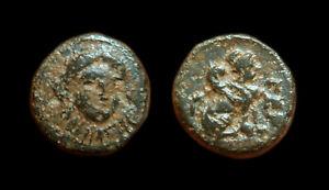 AE12 Gergis - Troas ( Sibyl Herophile / Sphinx)