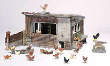 Woodland Scenics (HO-Scale) 215 - Scenic Details - CHICKEN COOP