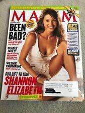 Maxim Magazine December 2003 #72 Shannon Elizabeth VG Cond.