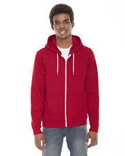 American Apparel Unisex Flex Fleece Zip Hoodie. F497