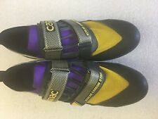 Vintage Carnac Bicycle Shoes with Cleats Size 44.5
