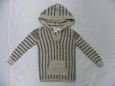 Roxy Kids Teenie Wahine Weekender Beige Hoodie Pullover Sweaters Sz 5