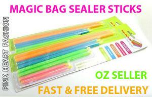 Bag Sealing Stick Clip Zip Storage Safe Reusable Easy Sealer Kitchen Food Store