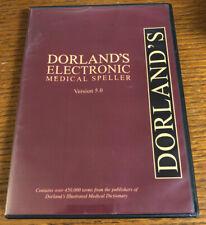 Dorland's Electronic Medical Speller Version 5.0