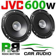 JVC 600 WATTS 6.5 Inch 16cm Dual Cone Car Van Door Dash Shelf Speakers Pair