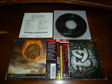 Saxon / Solid Ball of Rock JAPAN+2 TECP-28783 Rare!!!!!! B5