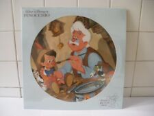 Pinocchio Disney Picture Disc Orig. M. P. Soundtrack  1980  LP 33 Giri (BXB67)