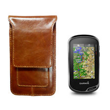 Leather Protect Case Bag for Garmin Hiking GPS Oregon 600 650 700 750 (t)