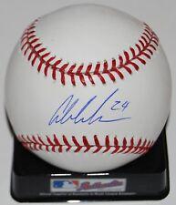 AUSTIN MEADOWS signed OML Major League baseball (TAMPA BAY RAYS) *PROOF* W/COA