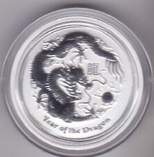 Australien Lunar II 2012 - 1 OZ - Drache - Silber 999,9