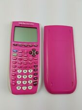 Texas Instruments TI-84 Plus Silver Edition Graphing Calculator Pink Tested