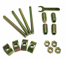 Bed Rail / Headboard Assembly Nuts, Bolts, Crescent Nut, Allen 17PC Hardware Kit