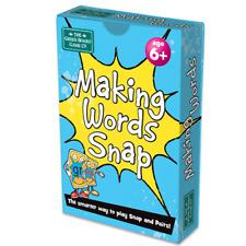 Cerebro Caja haciendo palabras Snap Juego De Cartas Escuela de Inglés Año 3