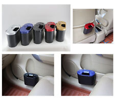 PortableTravel Car Trash Dustbin Rubbish Mini Bin Can Holder Case -Random Colour