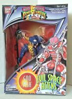 MMPR Power Rangers Evil Space Aliens GOOFISH Action Figure Bandai 1994 Used
