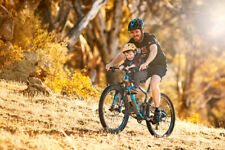 Shotgun Front Mounted Child KIds Bike Seat / And Handlebars / Mountain Biking