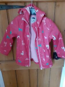 Girls Joules Raincoat Age 5