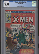 AMAZING ADVENTURES V2 #4 MT 9.8 CGC WHITE PAGES GREAT VANISHER BATTLE COVER