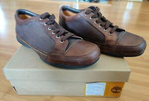 Timberland Mt Keenan Spt Ox Shoes Men's Sz 11M Brown Genuine Leather Sneakers
