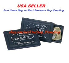 Magnetic Magnet Hide A Key Emergency Spare Key Car Holder Hider Set
