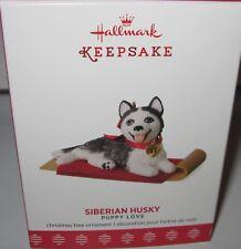 2017 HALLMARK - SIBERIAN HUSKY - 27TH IN THE PUPPY LOVE SERIES - MINT IN BOX