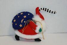 Mary Engelbreit Fabric Santa Claus Christmas Ornament