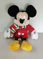 More details for disney store 2010 mickey mouse with christmas outfit plush soft toy h17