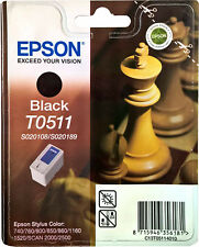 Original Epson T0511, S020108, S020189, Epson Stylus C740, 760, 800, 850, 860