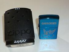 "ZIPPO LIGHTER ""GAULOISES"" W. NICE CASE - LIMITED EDITION - 2005 - VERY NICE"