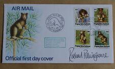 Papua Nuova Guinea huon Tree Kangaroo 1994 FDC firmato da Polkinghorne Rachael