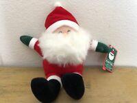 Vintage Hallmark Santa Sewn Toy Plush 14 Inches