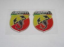 Lancia y Fiat Punto Cinquecento 500 600 TC Spider 3d Abarth Sticker Adhesivo