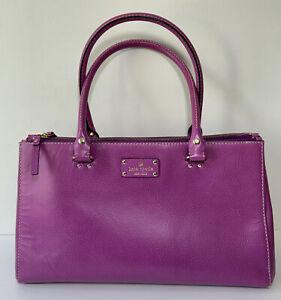 kate spade New York Satchel Shoulder Bag Purple /Pink