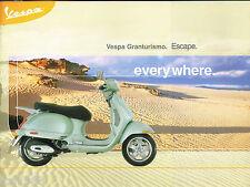 2003?2004 VESPA GranTurismo Scooter Brochure / Catalog: 200L,GRAN TURISMO,200-L